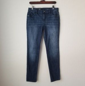 Vera Wang Mid Rise Jeans Size 6